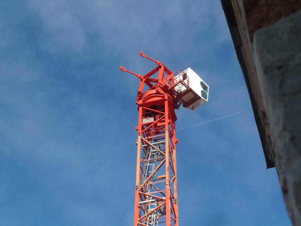 Toronydaru fülkéje 40 méter magasan